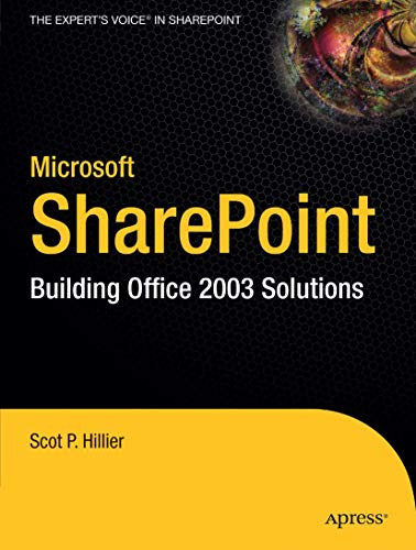 9781590593387: Microsoft SharePoint: Building Office 2003 Solutions