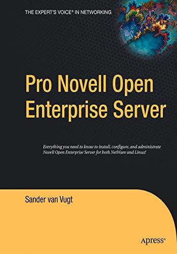 9781590594834: Pro Novell Open Enterprise Server