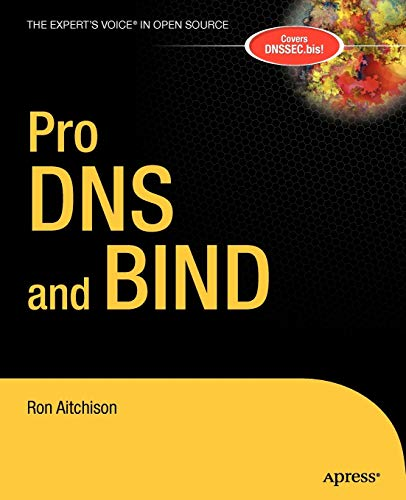9781590594940: Pro DNS and BIND