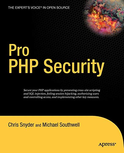 9781590595084: Pro PHP Security
