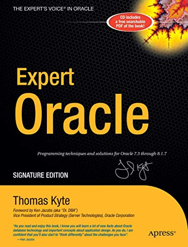 9781590595251: Expert One-on-One Oracle