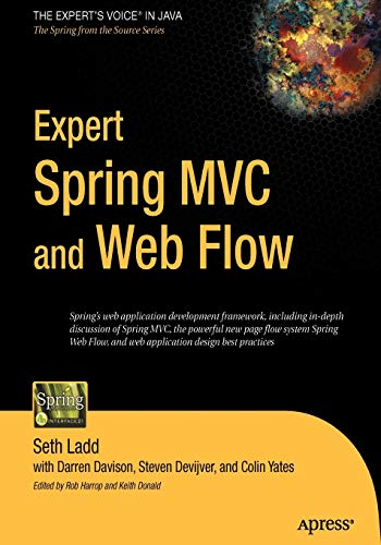 9781590595848: Expert Spring MVC and Web Flow