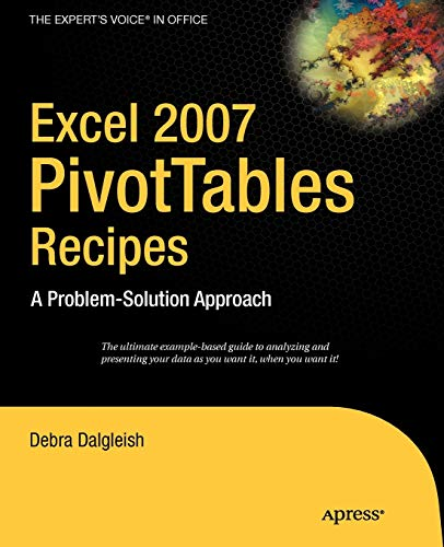 9781590596296: Excel Pivot Tables Recipe Book: A Problem-Solution Approach