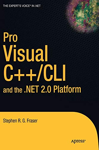 9781590596401: Pro Visual C++/CLI And the .net 2.0 Platform