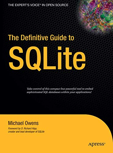 9781590596739: The Definitive Guide to SQLite