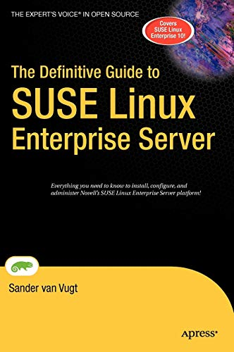 9781590597088: The Definitive Guide to SUSE Linux Enterprise Server (Definitive Guides (Hardcover))