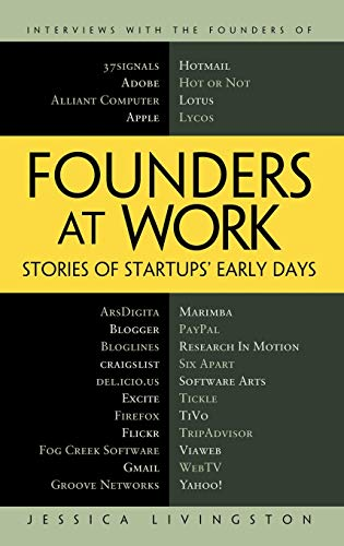 9781590597149: Founders at Work: Stories of Startups' Early Days