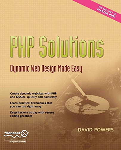 9781590597316: PHP Solutions: Dynamic Web Design Made Easy