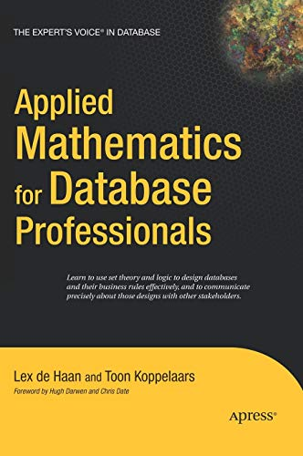 9781590597453: Applied Mathematics for Database Professionals (Expert's Voice)