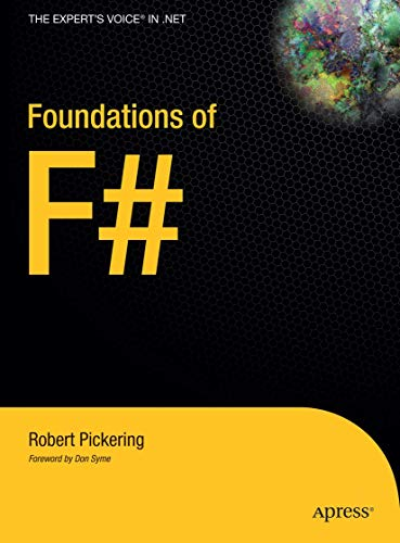 9781590597576: Foundations of F# (Expert's Voice in .NET)