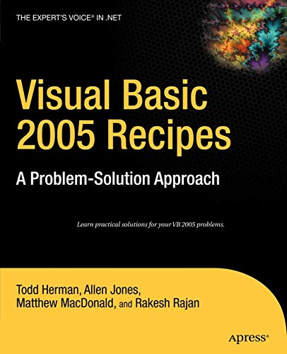 9781590598528: Visual Basic 2005 Recipes: A Problem-Solution Approach (Expert's Voice in .NET)