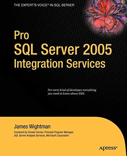 9781590598979: Pro SQL Server 2005 Integration Services