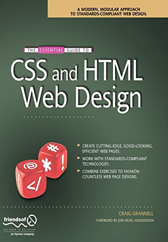 9781590599075: The Essential Guide to CSS and HTML Web Design (Essentials)