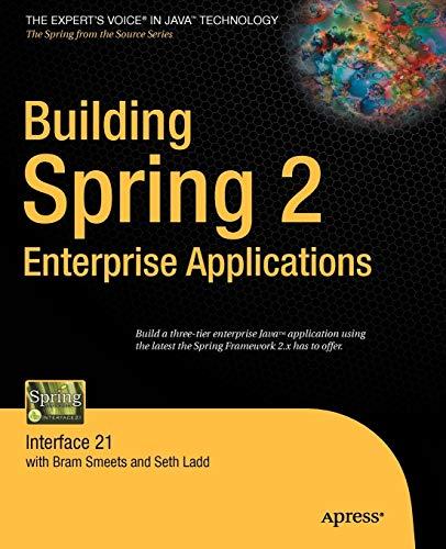 9781590599181: Building Spring 2 Enterprise Applications