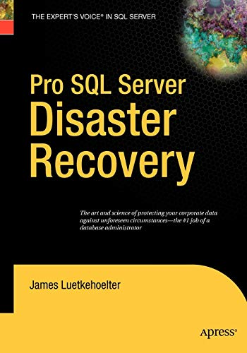 9781590599679: Pro SQL Server Disaster Recovery