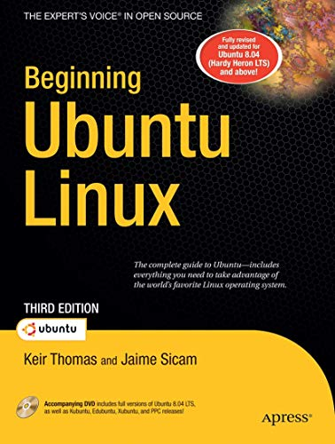 9781590599914: Beginning Ubuntu Linux (Books for Professionals by Professionals)