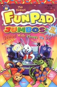 9781590603680: The Original Fun Pad Jumbos Packed with Things To Do (G6804-4)