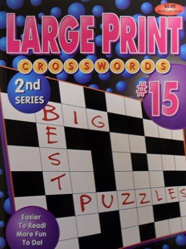 Large Print Crosswords (2nd Series): Playmore
