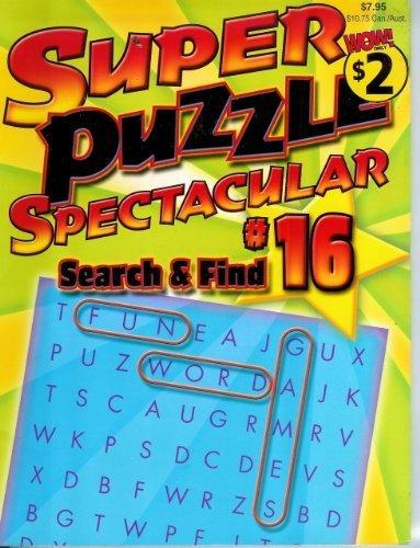 9781590605110: Super Puzzle Spectacular #16
