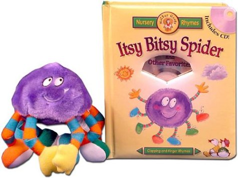 Itsy Bitsy Spider and Other Favorites with Plush Spider & CD: Smith, Jan