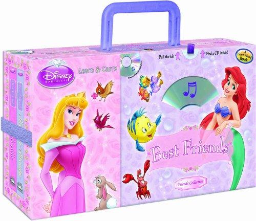 Disney Princess Best Friends (4-book Learn & Carry pack with audio CD) (Disney Princess (Random...