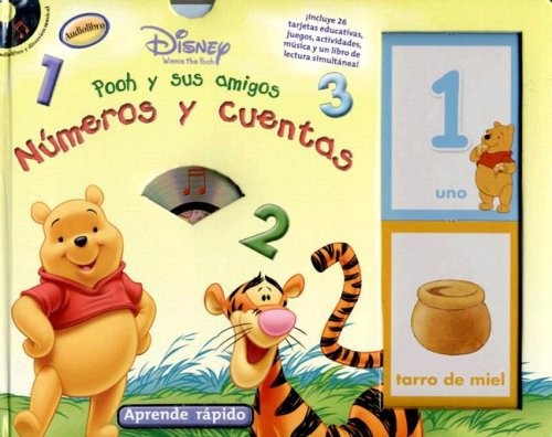 Pooh y Sus Amigos: Numeros y Cuentas [With CD] (Aprende Rapido) (1590695895) by Studio Mouse