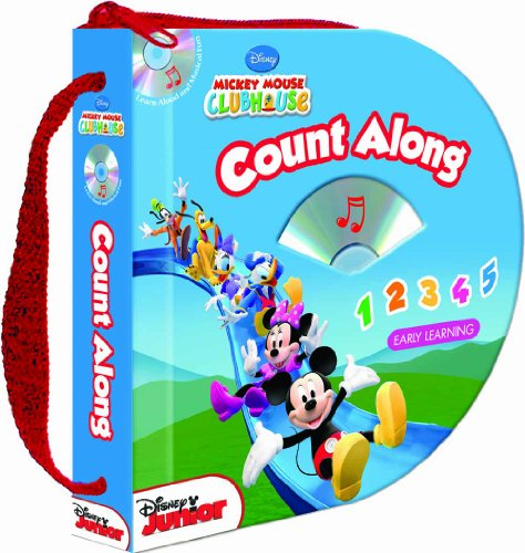 Disney Mickey Mouse Clubhouse: Count Along (Zip & Carry book with audio CD) (1590696131) by Soundprints