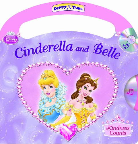 Disney Princess Cinderella and Belle Kindness Counts: Studio Mouse Editorial