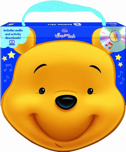 Disney Winnie the Pooh Bedtime ABCs (Shaped board book with handle and audio CD) (Disney Winnie the...