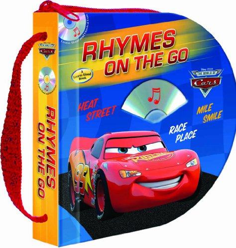 9781590696736: Disney/Pixar Cars Rhymes on the Go (Zip & Carry book with audio CD) (Disney Pixar: the World of Cars)