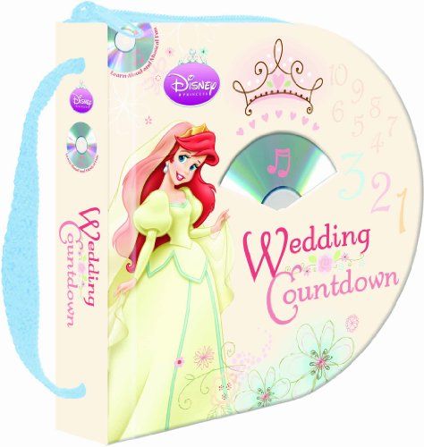 9781590697405: Disney Princess: Wedding Countdown (Zip & Carry book with audio CD)