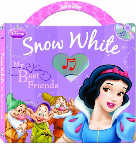 9781590697726: Disney Princess Snow White: My Best Friends (Audio Tales book with audio CD)
