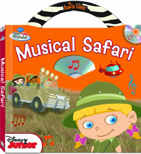 9781590697740: Disney Little Einsteins Musical Safari (Audio Tales book with audio CD)