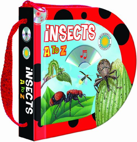 9781590698242: Insects A to Z (Zip & Carry book) (with audio CD)