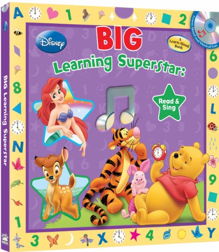 Disney Big Learning Superstar Song Book (with: studio mouse