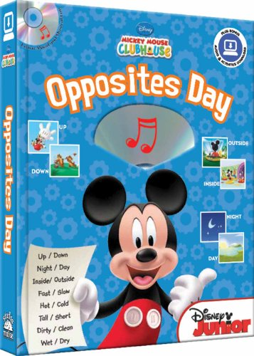 9781590698938: Disney Mickey Mouse Clubhouse Opposites Day (with audio CD and easy-to-download music) (Disney Mickey Mouse Clubhouse (Studio Mouse))