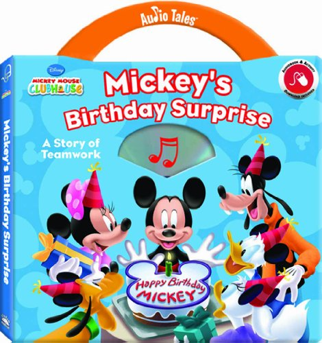 9781590699072: Disney Mickey Mouse Clubhouse Birthday Surprise: A Story of Teamwork (Audio Tales book with audio CD)