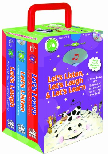Let's Laugh, Let's Learn, Let's Listen - a Mother Goose Set (3 books, storage case with handle) (Storybook Sets) (9781590699140) by Mother Goose