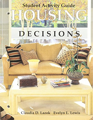 9781590701423: Housing Decisions