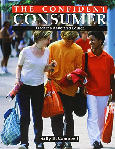 9781590701478: The Confident Consumer, Teacher's Annotated Edition