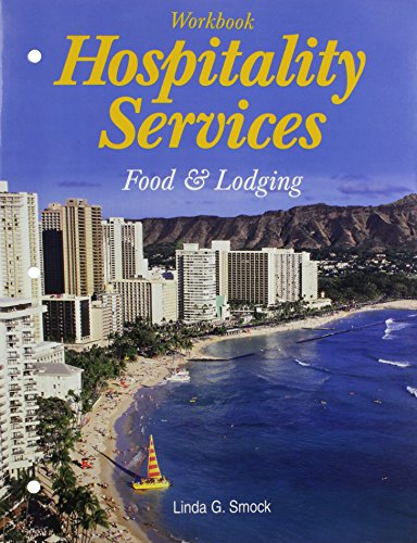 9781590701539: Hospitality Services: Food And Lodging Workbook