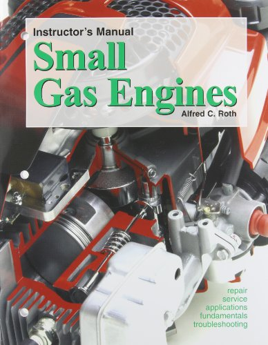 9781590701850: Instructor's Manaul: Small Gas Engines