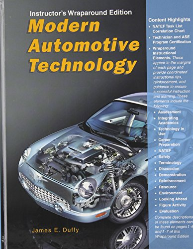 Modern Automotive Technology Instructor's Wraparound Edition (1590701879) by James E. Duffy