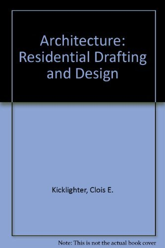 9781590701973: Architecture: Residential Drafting And Design (Instructor's Manual)