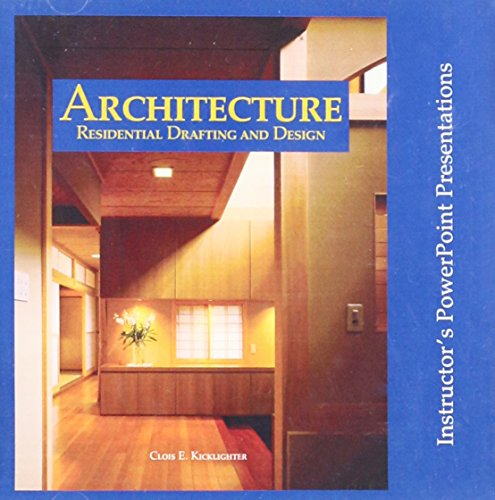 9781590702000: Architecture: Residential Drafting and Design