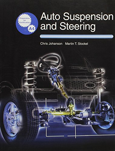 9781590702611: Auto Suspension and Steering Technology