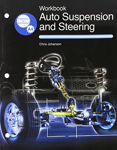 9781590702635: Auto Suspension and Steering Workbook