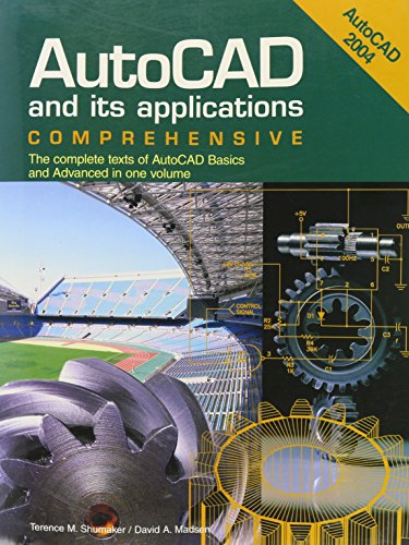 9781590702932: Comprehensive (AutoCAD and Its Applications)
