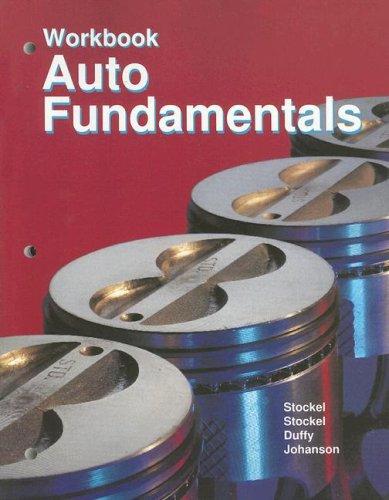 9781590703267: Auto Fundamentals: workbook