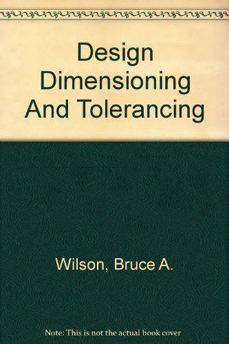 9781590703304: Design Dimensioning And Tolerancing: Solution Manual